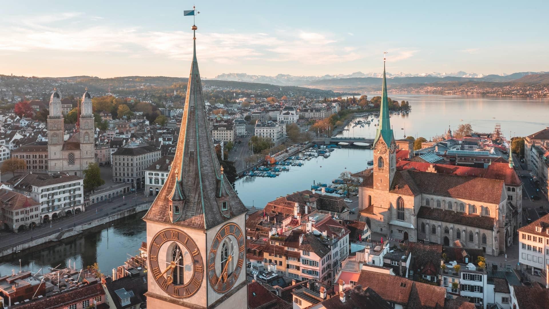 Zurich city image